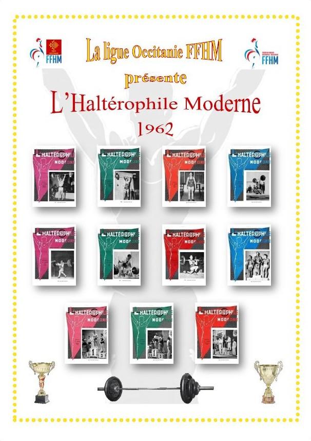 Première de couverture de la compilation Haltérophile Moderne année 1962