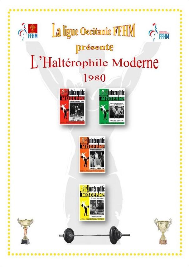 Première de couverture de la compilation Haltérophile Moderne année 1980