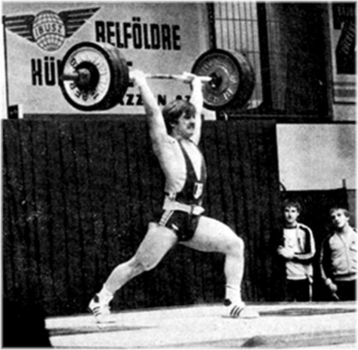 Pascal Senet (catégorie 75 Kg)... aux Championnats du monde juniors 1979