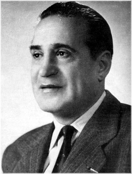 M. Paul Rocca, Vice-président de la F.F.H.C., président fondateur de l'Athlétic Club Montpelliérain