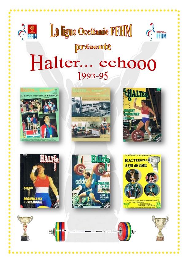 Page de présentation des revues Halter Echooo 1993-1995
