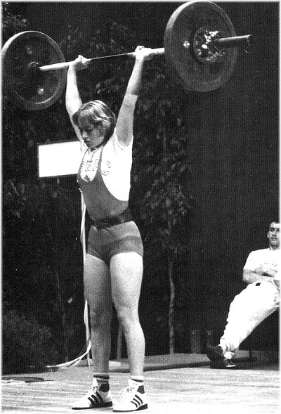 La junior Alice Boiron enlève le titre chez les 56 kg au Championnat de France 1987