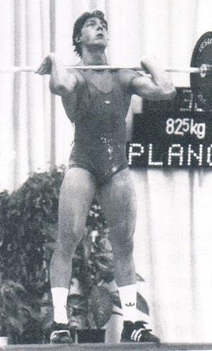Cédric Plançon au Championnat d'Europe 1993