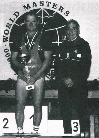 Roland Chavigny et Marc Marcombe, nos deux premiers World Masters d'Haltérophilie de la FFHMC