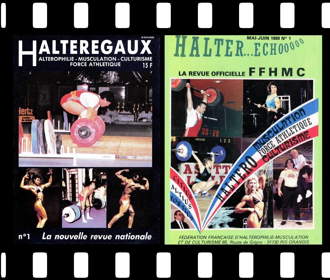 Page de téléchargement des revues Halteregaux et Halter Echo